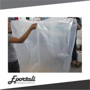 Sacos plásticos grandes e resistentes