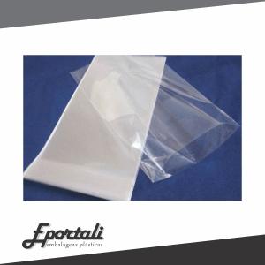 Sacos plásticos incolor