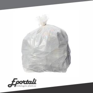 Saco plástico opaco