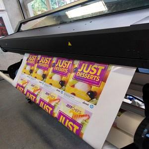 Impressão HP Látex