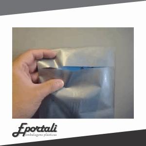 Sacos plásticos para documentos